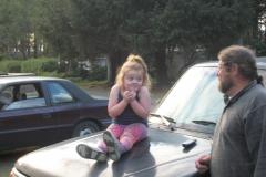 Alyssa on car Max